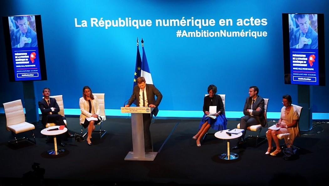 """""""Notre """"French Tech"""" incarne à la fois la puissance industrielle française et le dynamisme des nouvelles générations qui développent des usages où se mêlent consommation, innovation et action citoyenne""""  Benoît Thieulin, Président du Conseil Numérique"""