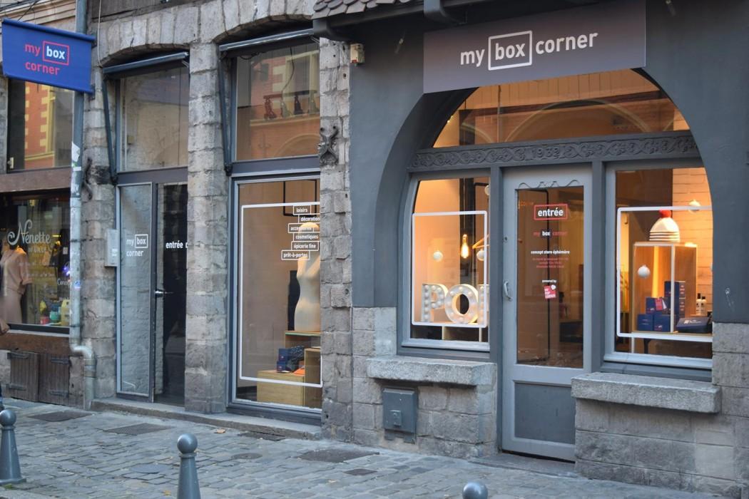 """""""Le Pop-Up est un canal de distribution complémentaire au web et au commerce traditionnel"""" Nicolas Lengaigne, cofondateur de My Box Corner"""