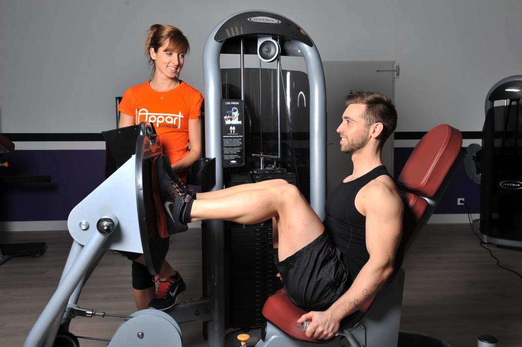 L'Appart Fitness - Patrick Mazerot | Fractale
