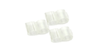 Clear Plastic Clips Sample Support Mounting