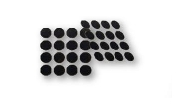 Conductive Carbon Adhesive Tabs