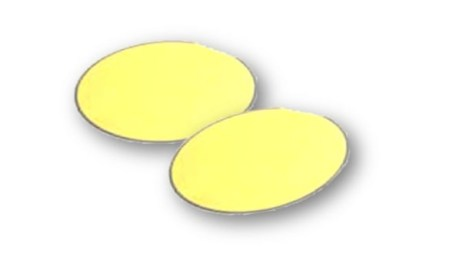 Gold Coated Silicon Wafer P Type 100