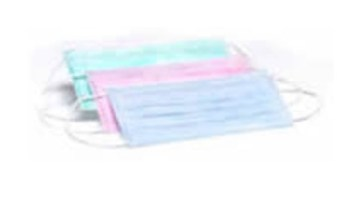 3 Ply Latex Free Face Mask