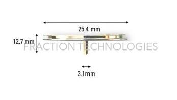 Aluminum Standard Specimen Mounts SEM 25.4mm