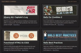 Codeschool Screenshot
