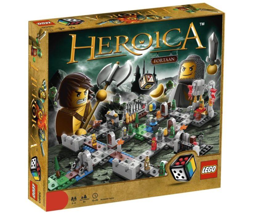 Lego Games Heroica Castle Fortaan