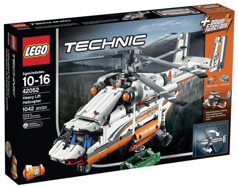 Lego Technic Heavy Lift Helicopter