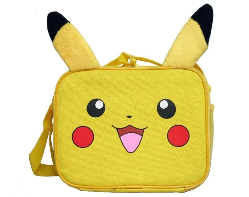 Nintendo Little Boys' Plush Pikachu Lunch Bag