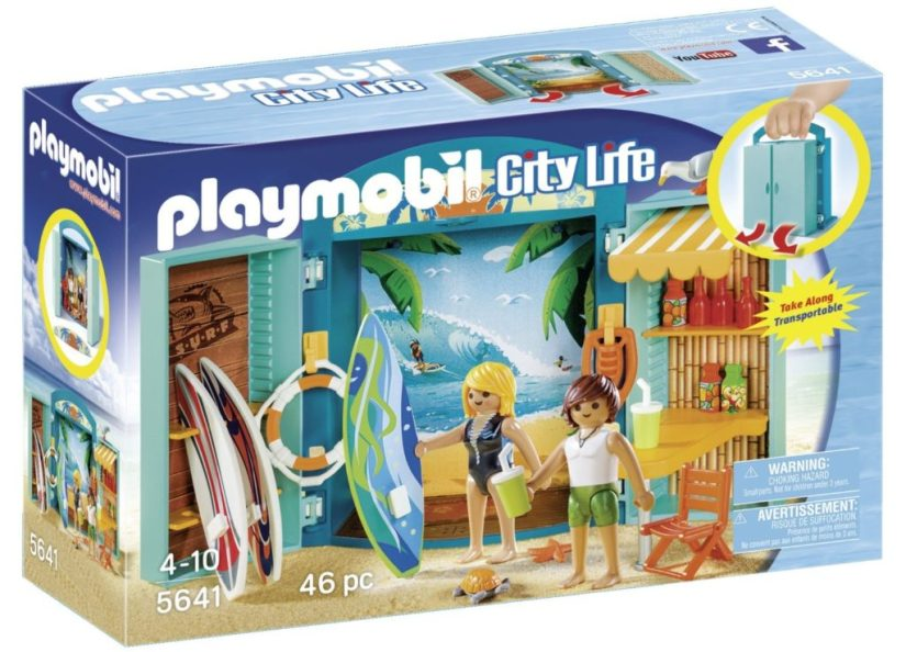Playmobil Surf Shop Play Set