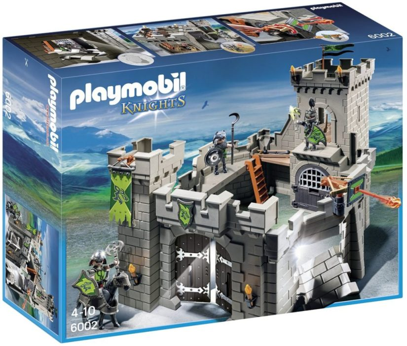 Playmobil Wolf Knight's Castle Playset Building Kit