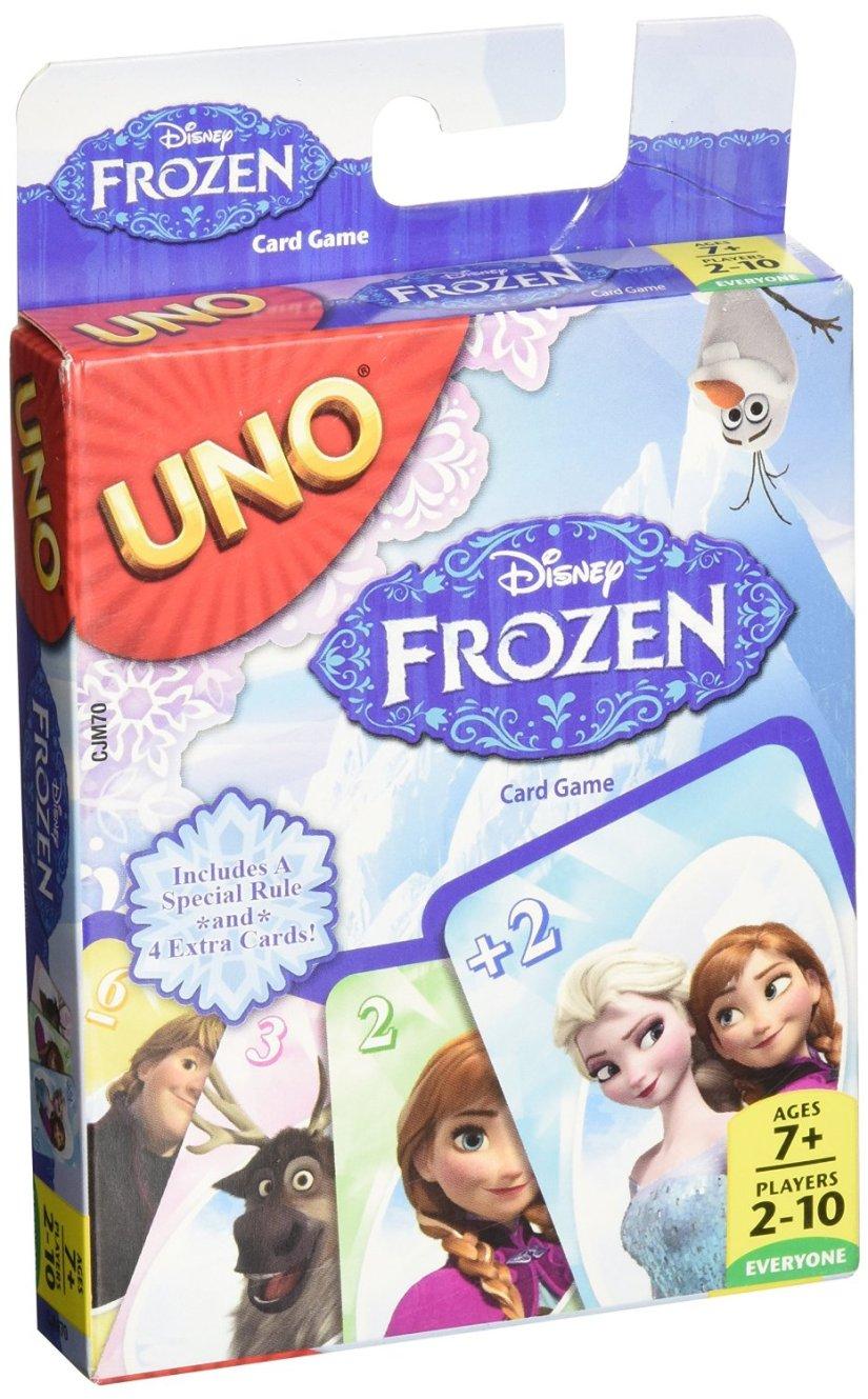 Uno Disney's Frozen Edition