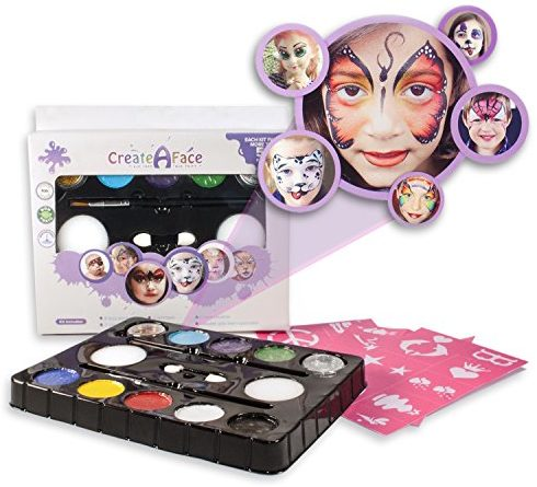 Create-a-Face Face Painting Kit For Parties