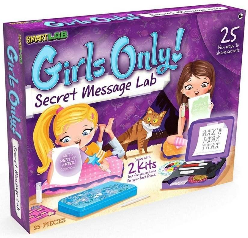 SmartLab Toys Girls Only! Secret Message Lab -games for girls