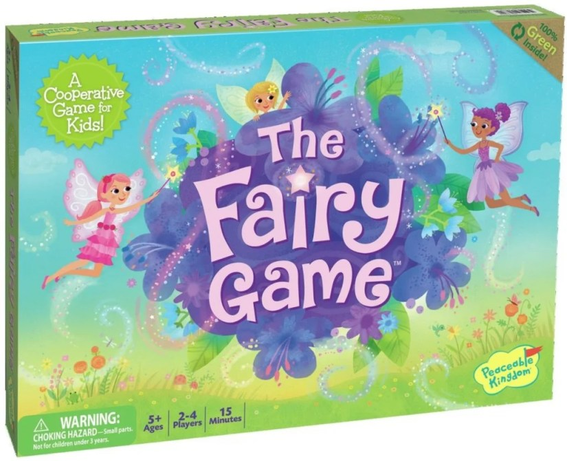 Peaceable Kingdom The Fairy Game - games for girls
