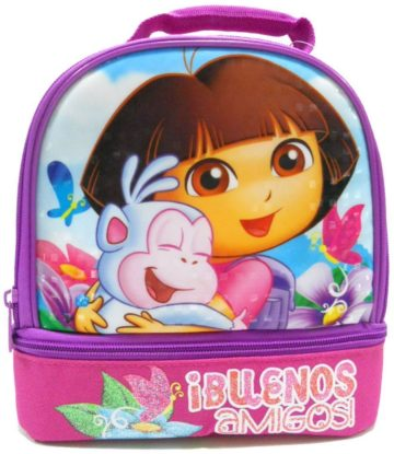Nickelodeon Dora Dual Lunch Box Kit - dora the explorer
