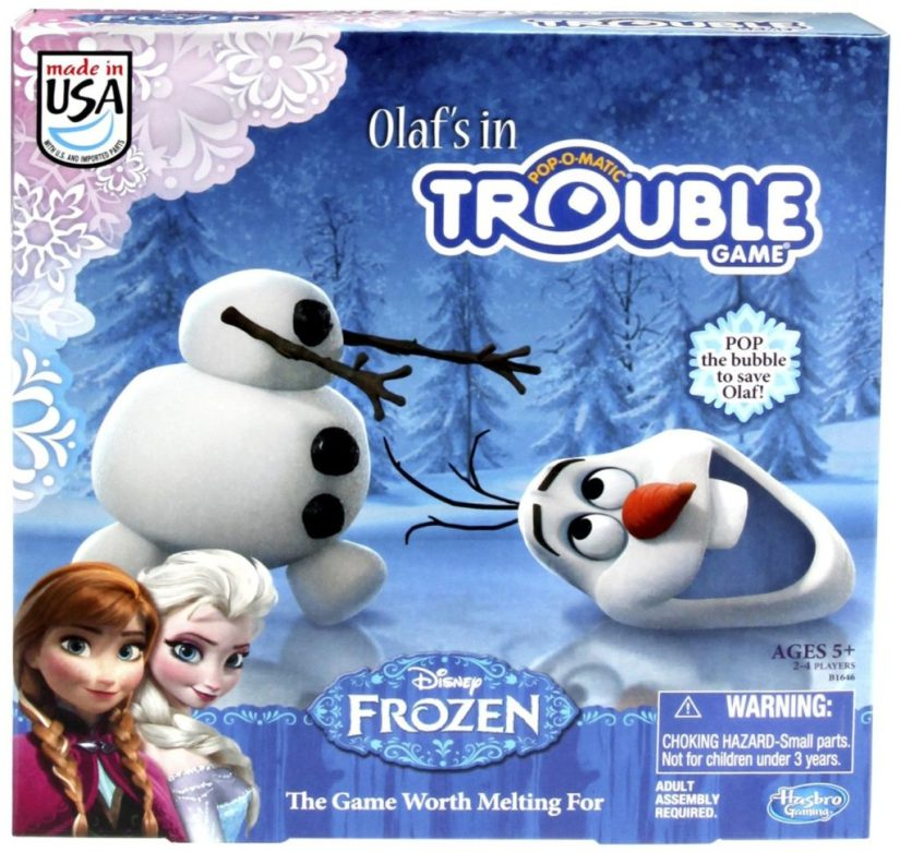 Frozen Olaf's in Trouble Game - games for girls