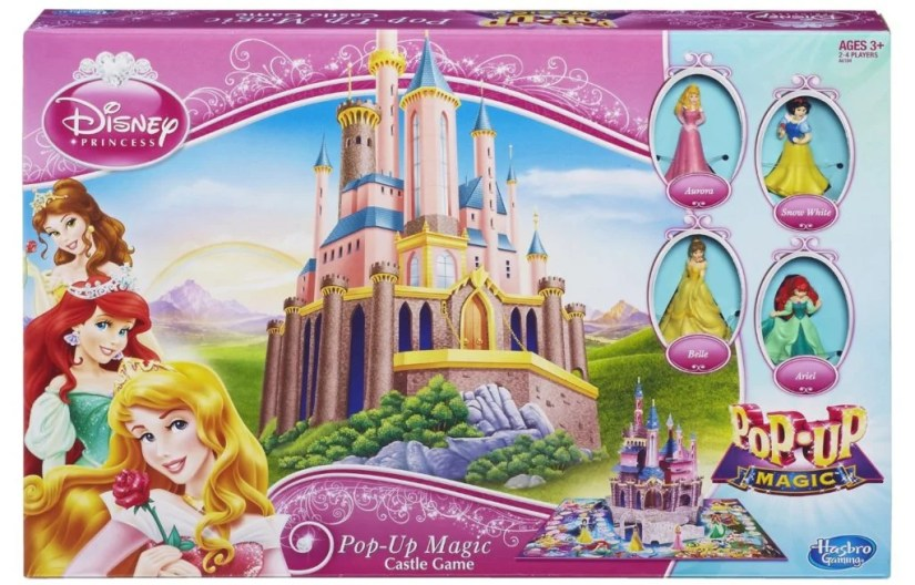 Disney Princess Pop-Up Magic Pop-Up Magic Castle Game - games for girls