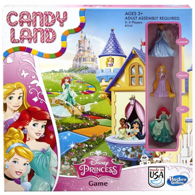 Candy Land Disney Princess Edition Game Board Game - games for girls