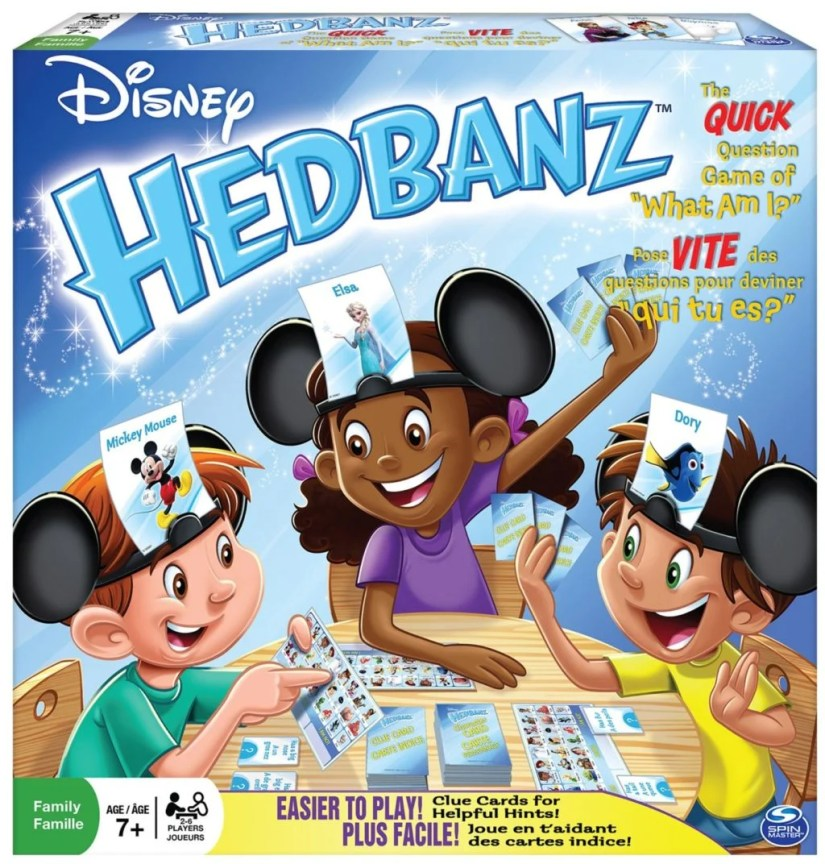 Disney HedBanz - games for girls