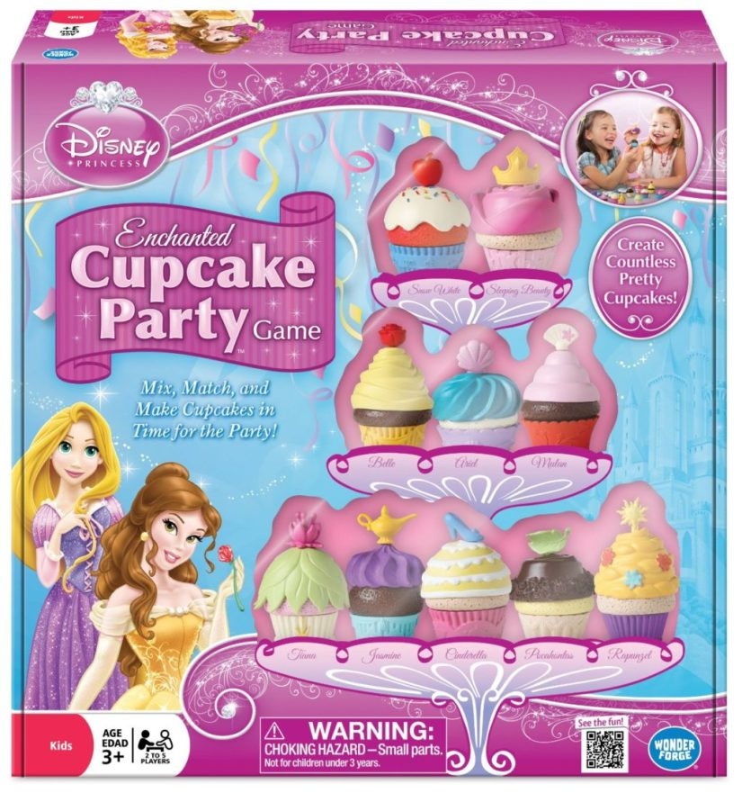 Disney Princess Enchanted Cupcake Party Game - games for girls