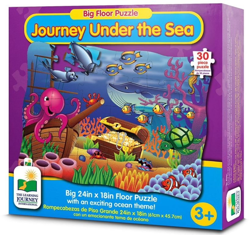 The Learning Journey Big Floor Puzzles - Journey Under The Sea - jigsaw puzzles