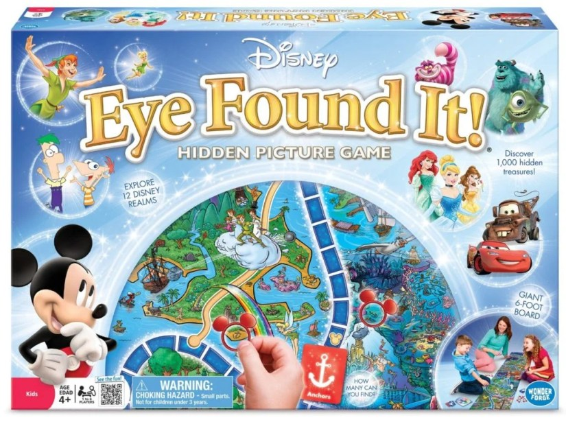 World of Disney Eye Found It Board Game - games for girls