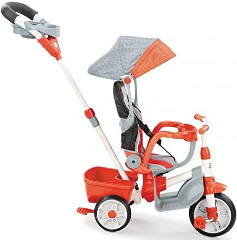 Little Tikes 5-in-1 Deluxe Ride & Relax, Reclining Trike