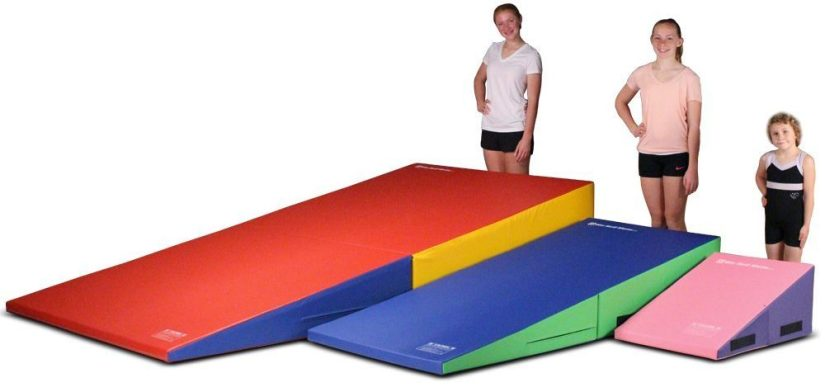 gymnastics-folding-and-non-folding-incline-cheese-wedge-tumbling-mat