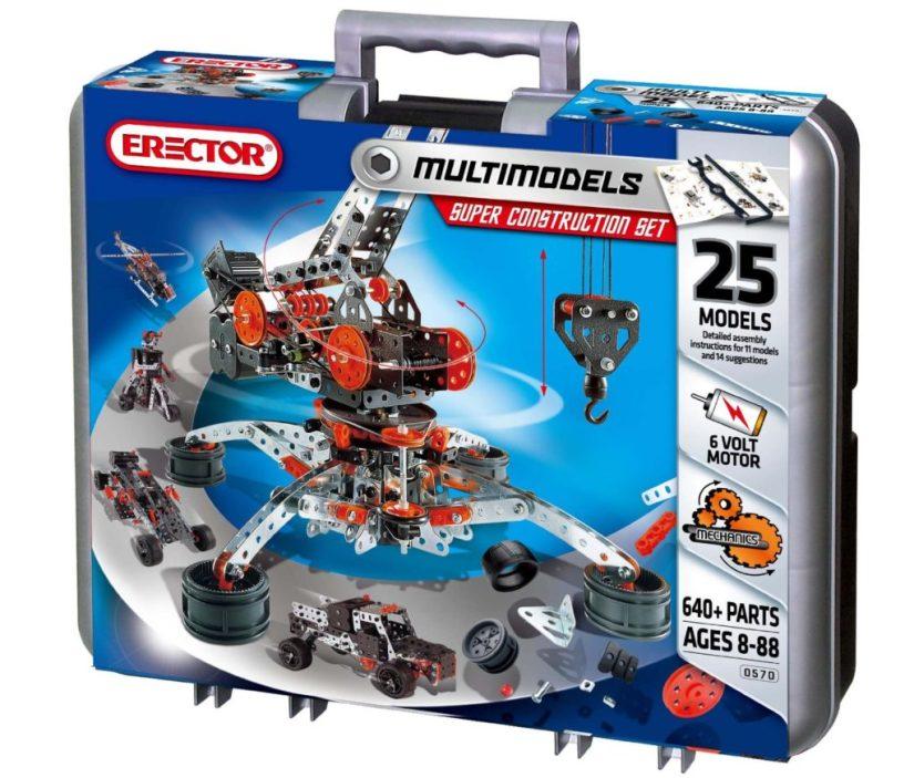 Meccano Toys Erector 25 Model Motorized Super Construction Set