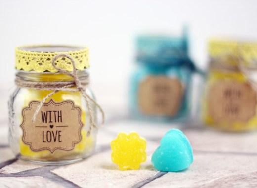DIY Sugar Scrub Cubes - Rezept für Peelingwürfel mit Zucker