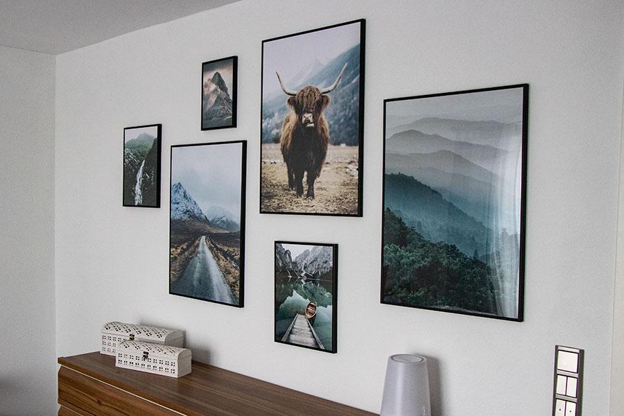 Living - Poster Bildergalerie fürs Schlafzimmer - Fräulein Content ...