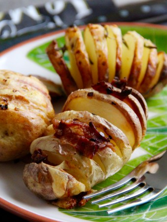 Hasselback-Potatoes – sommerliche Beilage!