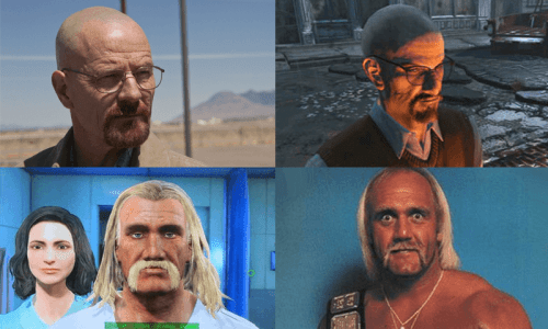 fallout 4 faces