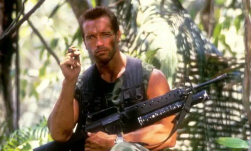 Arnold Schwarzenegger as Dutch in Predator