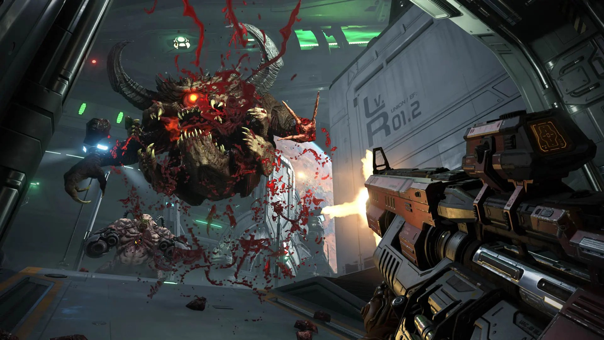 A bloody creature from DOOM