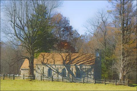 Rock Church — Blue Ridge Parkway, Virginia