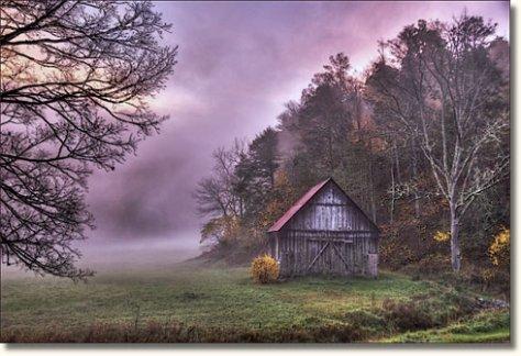 Autumn Morning Floyd County Virginia