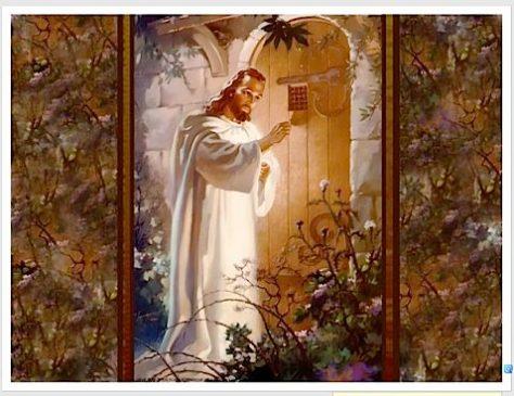 Warner Sallman's Painting: Jesus Knocks