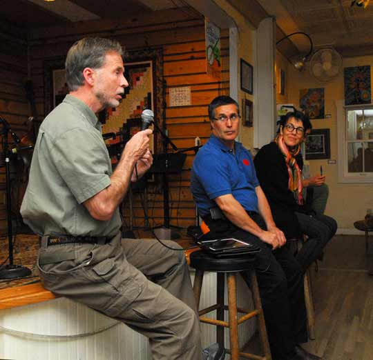 Panel Discussion on Film Night / Country Store
