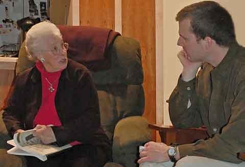 Nola Albert tells her story to Jonathan Kingston, 2009