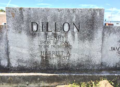 Dillons from Ireland, buried in Floyd VA