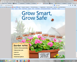 Grow smart grow safe website