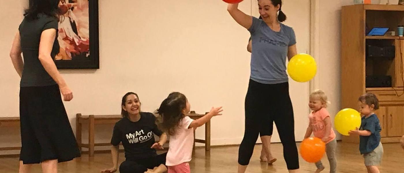 Frame Dance Toddler Dance Class – Spring 2019