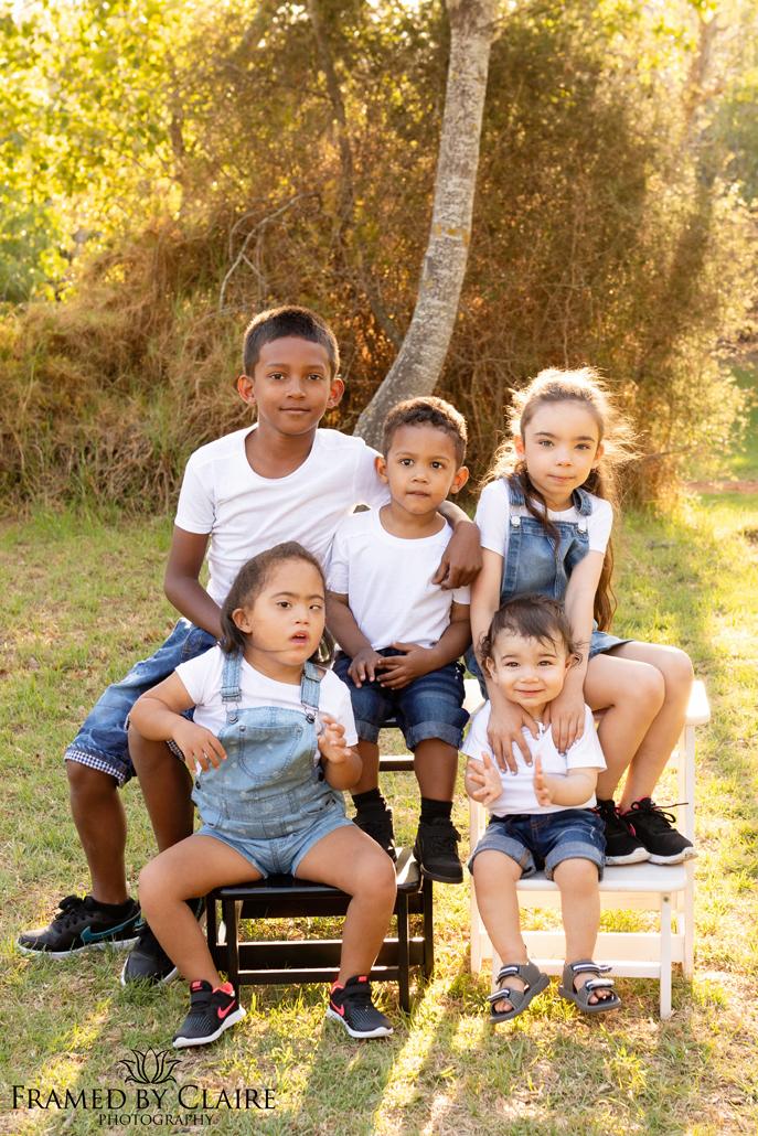 Big family group photo shoot
