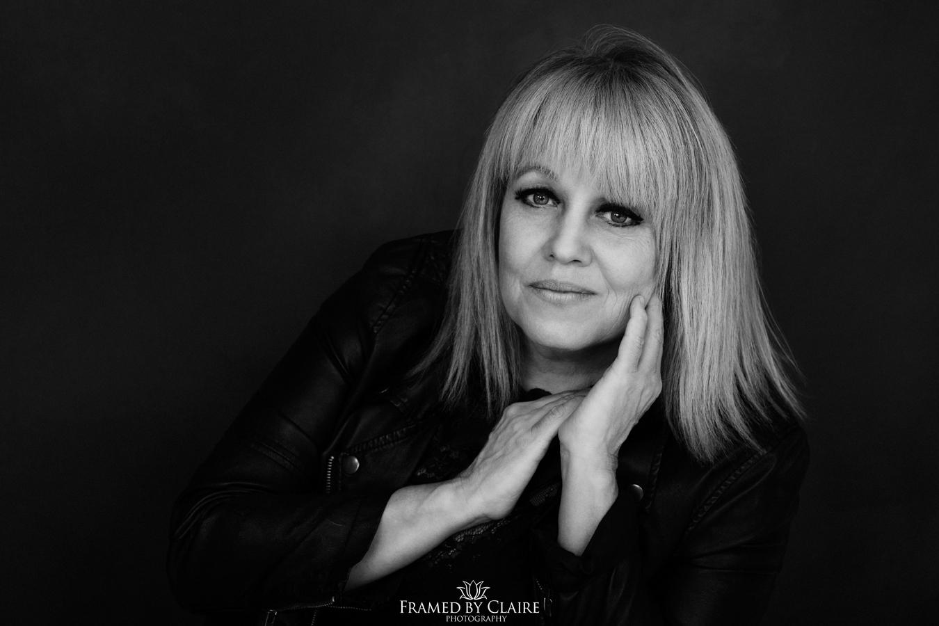 Hair stylist personal branding portraits