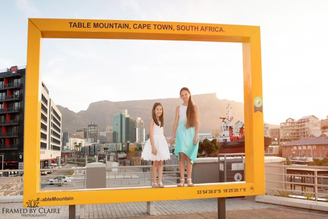Family portraits Cape Town Waterfront