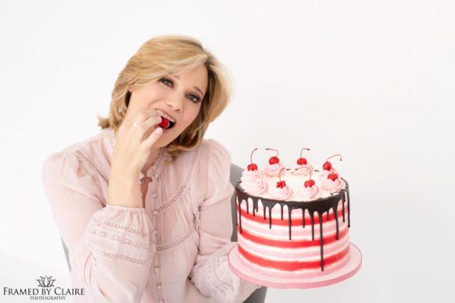Personal Branding photo shoot for a baker