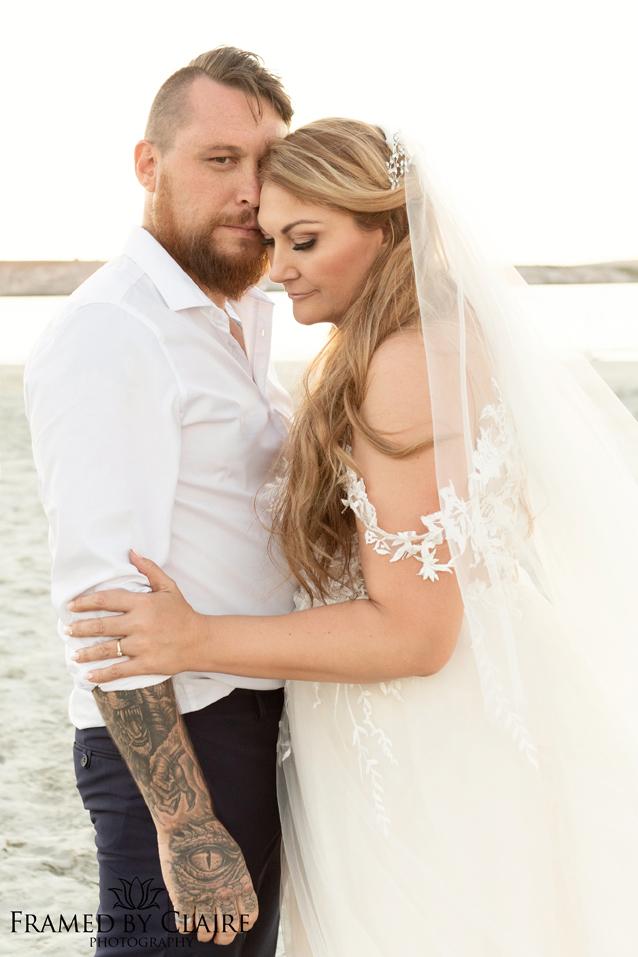 Wedding in Langebaan couple