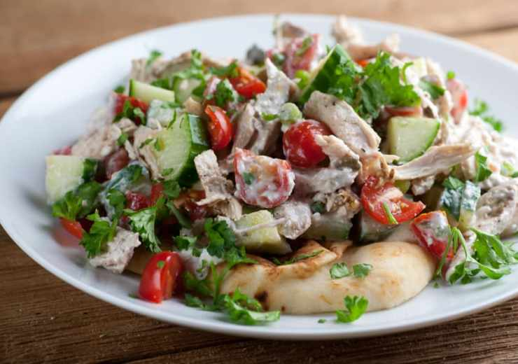 one bowl chicken souvlaki