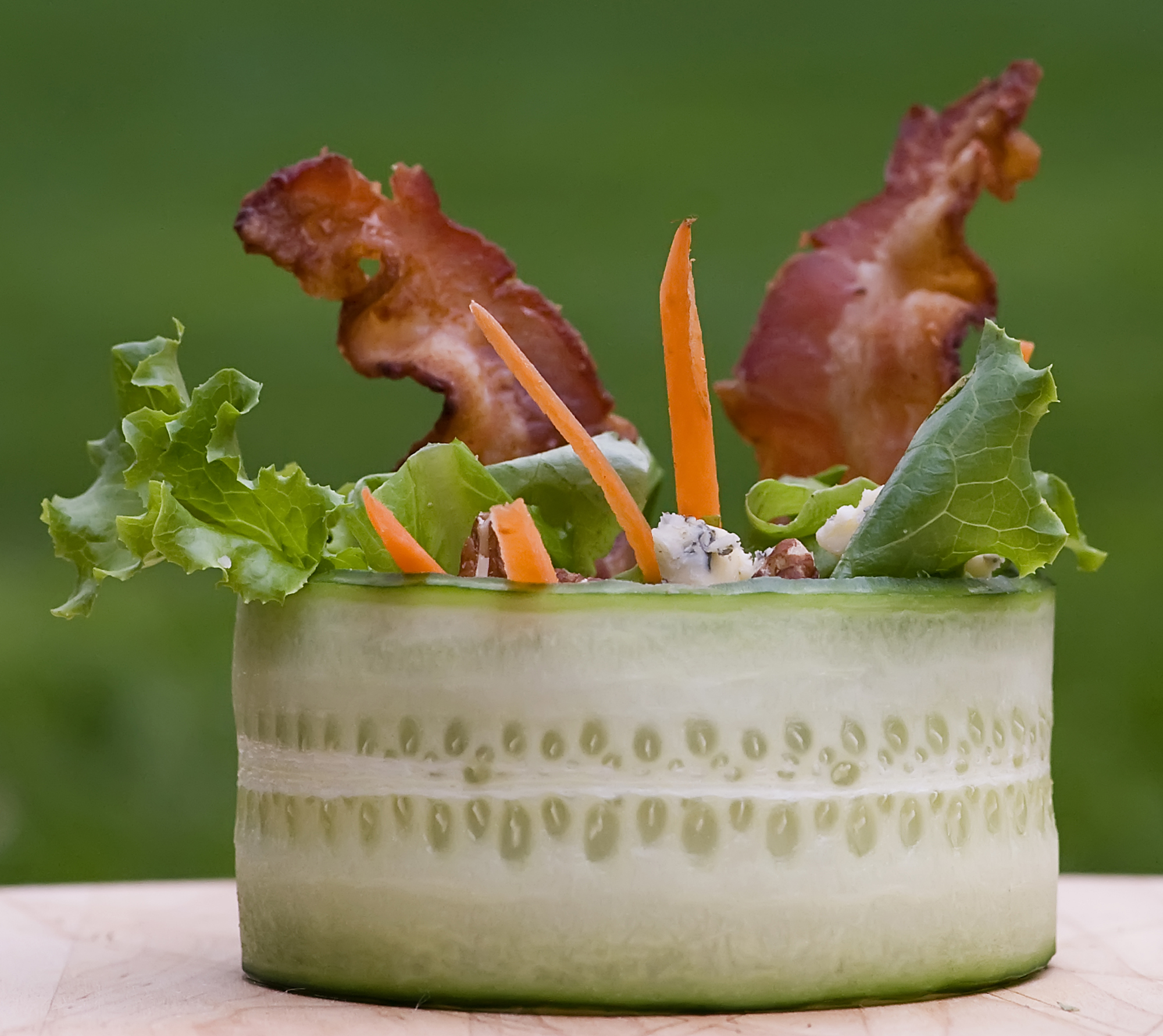 cucumber wrap salad